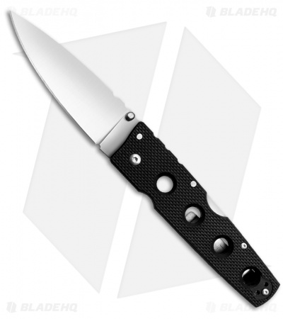 "Cold Steel Hold Out II Tri-Ad Lock Knife (4"" Satin) 11HCL"