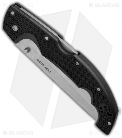 "Cold Steel Voyager XL Tanto Tri-Ad Lockback Knife (5.5"" SW Full Serr) 29TXCTS"