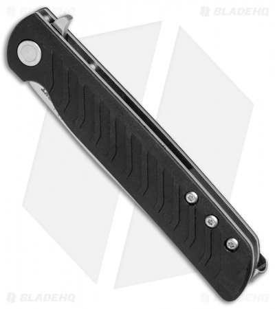"CRKT Ruger Knives LCK Liner Lock Knife Black GRN  (3.3"" Satin) R3801"
