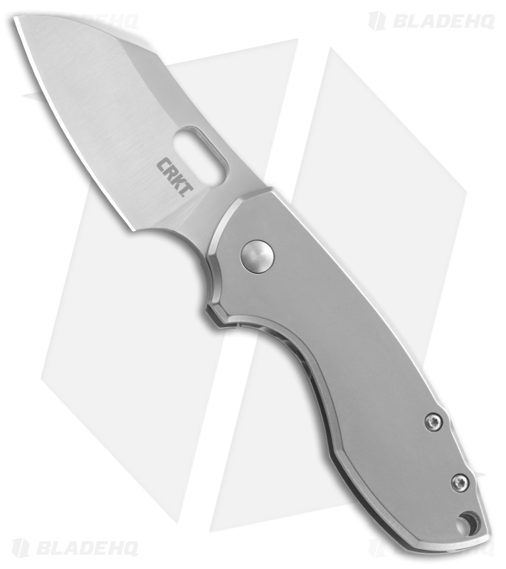 "CRKT Pilar Frame Lock Knife Stainless Steel (2.4"" Satin) 5311"