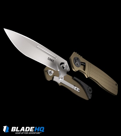 "CRKT Homefront Field Strip Knife (3.5"" Satin) K270GKP"