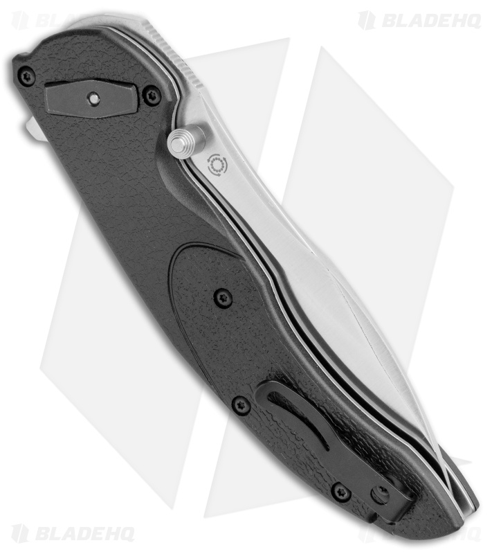 "CRKT Linchpin Deadbolt Lock Knife Black G-10 (3.9"" Satin) 5405"