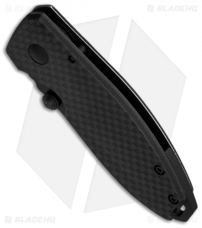 "CRKT Burnley Squid Knife Carbon Fiber/SS (2.25"" Smokewash) 2490KCF"