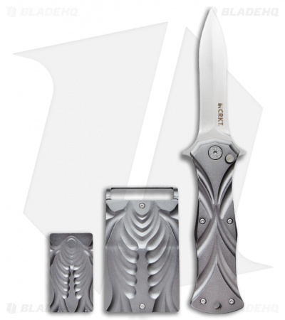 CRKT Tighe Dye Knife, Money Clip & Belt Buckle Gift Set 5280SET