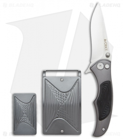CRKT Tighe Coon Knife, Money Clip & Belt Buckle Gift Set 5270SET