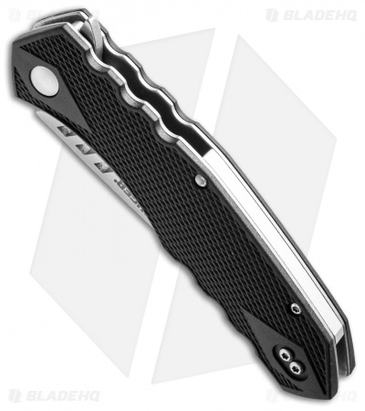 "CRKT Ruger Knives Follow-Through Compact Flipper Knife (3.25"" Stonewash) R1703"