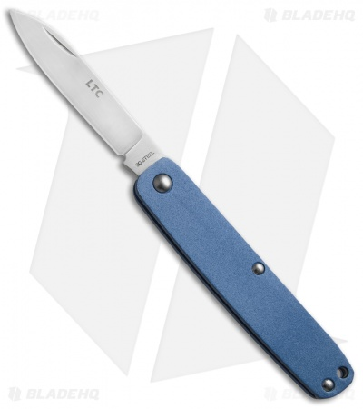 "Fallkniven LTC Pocket Knife Midnight Blue (2.25"" Satin) LTCmb"