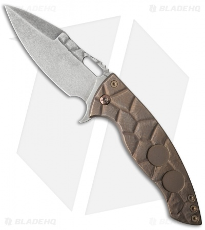 "Ferrum Forge Custom One-Off Model 8 AFY Knife Shell Pattern (3.75"" Matte)"