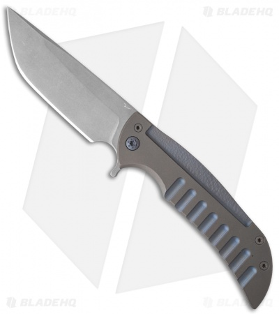 "Ferrum Forge Custom NGFR Flipper Knife (4"" Matte)"