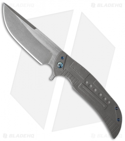 "Ferrum Forge Custom NGFR Flipper Knife Patch (4"" Two-Tone)"
