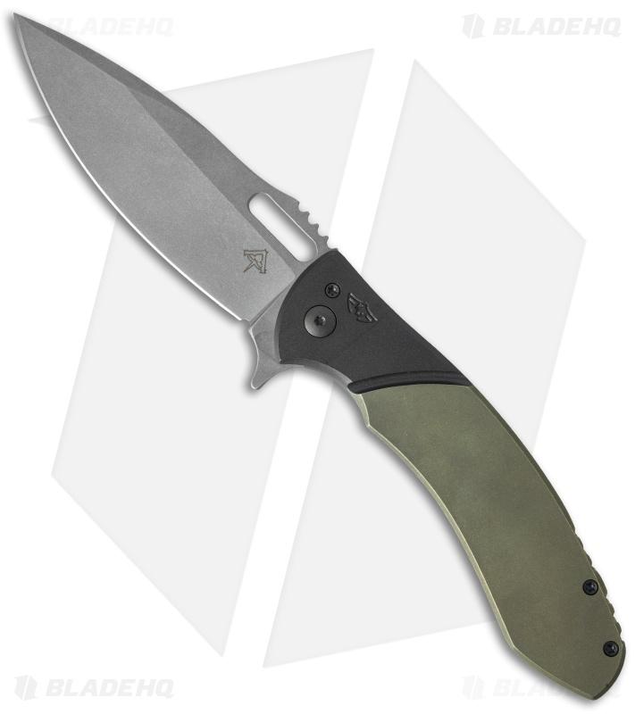 Ferrum forge kramer custom knives deity flipper titanium for Kramer knives