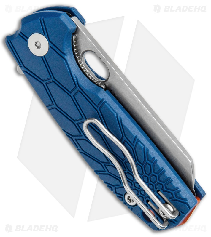 "Fox Knives Baby Core Mini Liner Lock Knife Blue FRN (2.35"" Stonewash)"