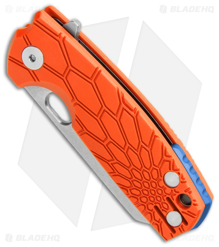 "Fox Knives Baby Core Mini Liner Lock Knife Orange FRN (2.35"" Stonewash)"