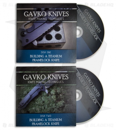 Gavko Knives Knife Making Techniques 2-Disc DVD Set