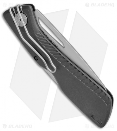 "Gerber Shark Belly Lock Back Knife Gray GFN (3.2""  Satin Serr) 31-003216"