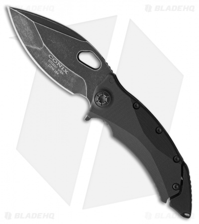 "Guardian Tactical Conix Flipper Knife Black G-10 (3.5"" Dark Stonewash) 81611"