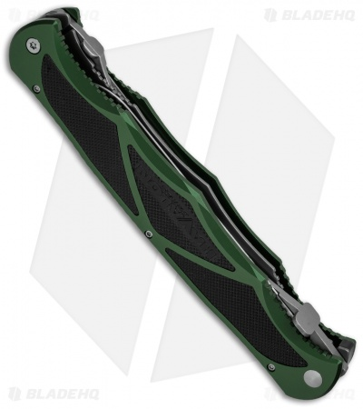 Havalon Hydra Double Blade Knife Green w/ 17 Replacement Blades & Nylon Case