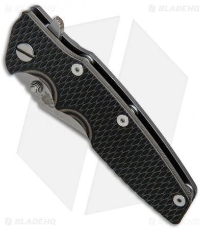 "Hinderer Knives Eklipse Gen 2 Bowie Knife Black/FDE G-10 (3.5"" Working)"