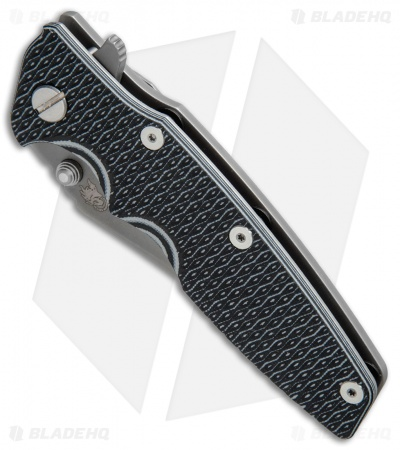 "Hinderer Knives Eklipse Gen 2 Bowie Knife Black/Gray G-10 (3.5"" Gray DLC)"