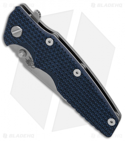 "Hinderer Knives Eklipse Gen 2 Harpoon Spanto Knife Blue/Black (3.5"" Stonewash)"