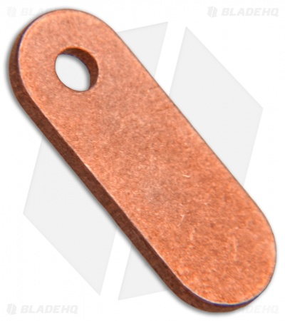 Hinderer Filler Tab Copper One Hole - Copper
