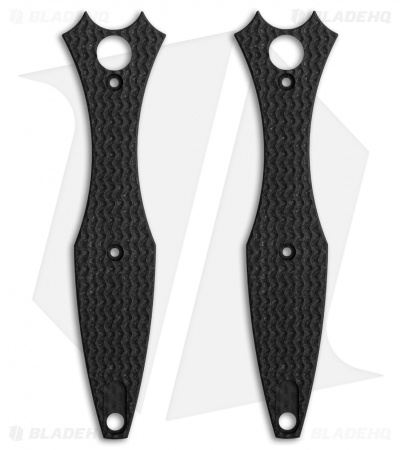 Hinderer Knives Maximus Textured Replacement Scales (Carbon Fiber)