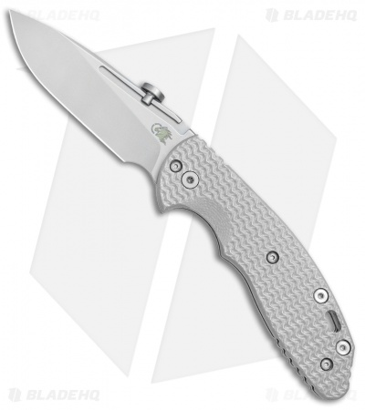 "Hinderer Knives XM Slippy Slicer Slip Joint Knife Gray G-10 (3"" Stonewash)"