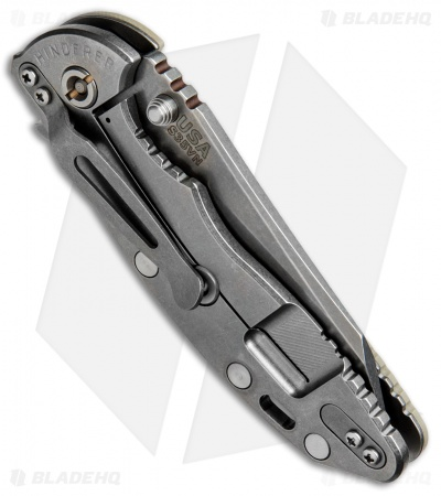 "Hinderer Knives Fatty Edition XM-18 Wharncliffe Knife Sand G-10 (3.5"" SW)"