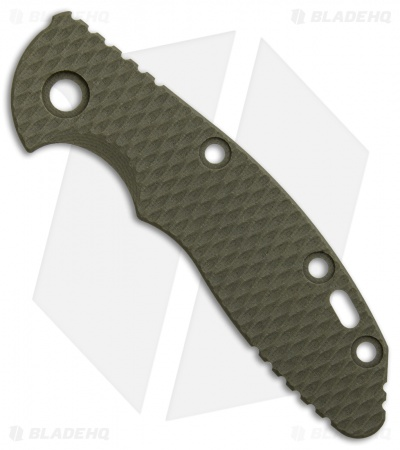 "Hinderer Knives 3"" XM-18 OD Green G-10 Replacement Scale"