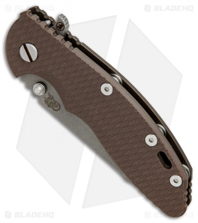 "Hinderer Knives Fatty XM-18 Harpoon Knife FDE G-10 Battle Bronze (3.5"" Working)"
