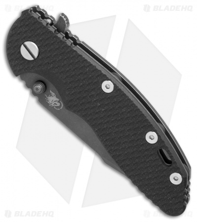 "Hinderer Knives XM-18 Harpoon Spanto Knife Black G-10 (3.5"" 20CV Battle DLC)"