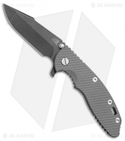 "Hinderer Knives XM-18 Harpoon Spanto Knife Gray G-10 (3.5"" 20CV Battle DLC)"