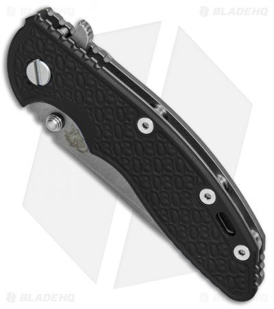 Hinderer Knives XM-18 3.5 Spanto 30th Anniversary Knife Black G-10 (Working)