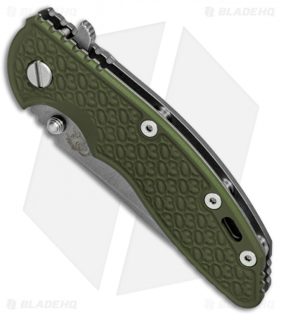 "Hinderer Knives XM-18 Spanto 30th Anniversary Knife OD Green G-10 (3.5"" Working)"