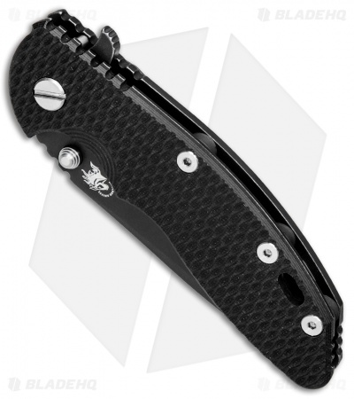 "Hinderer Knives XM-18 Spanto Flipper Knife Black G-10 (3.5"" Battle Black)"