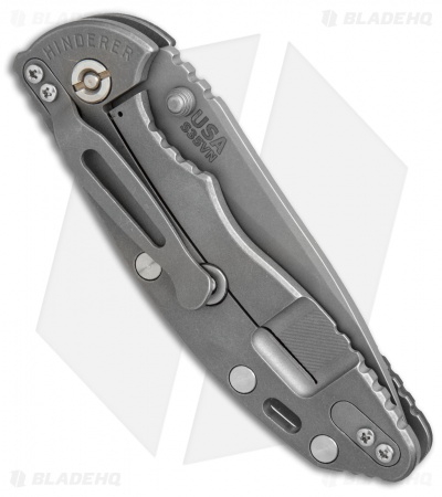 "Hinderer Knives XM-18 Slicer Frame Lock Green/Black G-10 (3.5"" Working)"