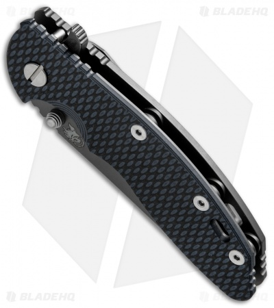 "Hinderer XM-18 3.5 FATTY Wharncliffe Green/Black (3.5"" Anthracite)"