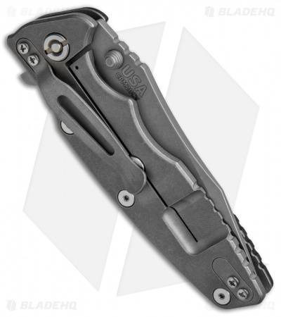 "Hinderer Knives Eklipse Gen 2 Harpoon Knife Black G-10 (3.5"" Working)"