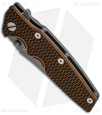 "Hinderer Knives Eklipse Gen 2 Harpoon Knife Orange/Black G-10 (3.5"" Working)"