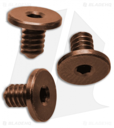 "Hinderer Knives XM-18 3"" Torx Screws Set - Bronze Anodized"