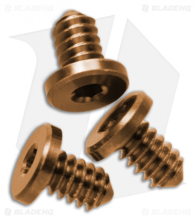 "Hinderer Knives XM-18 3.5"" Torx Screws Set - Bronze Anodized"