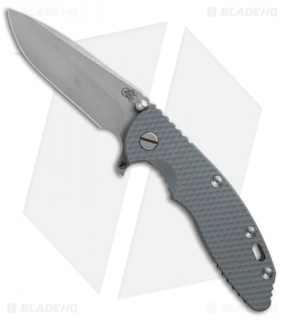 "Hinderer Knives Fatty Ed. XM-18 Spanto Knife Gray G-10/Bronze Ti (3.5"" Working)"
