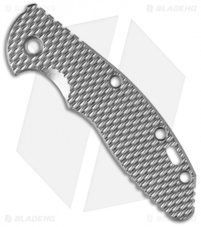 Hinderer XM-18 3.5 Textured Replacement Handle Scale (Titanium)