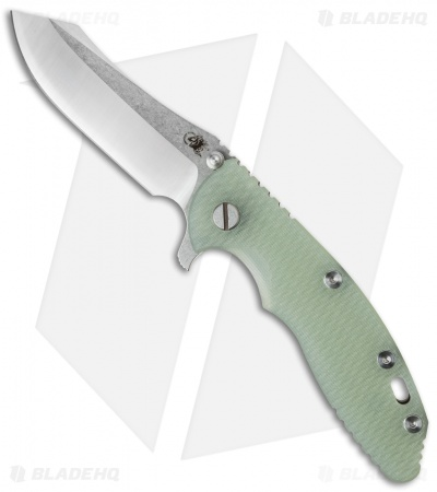 "Hinderer Knives XM-18 2016 LE Skinner Frame Lock Knife Natural (3.5"" Satin/SW)"