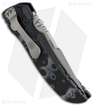 "Hogue Knives EX01 Limited Edition Tanto Knife Black G-Mascus  (4"" Stonewash)"