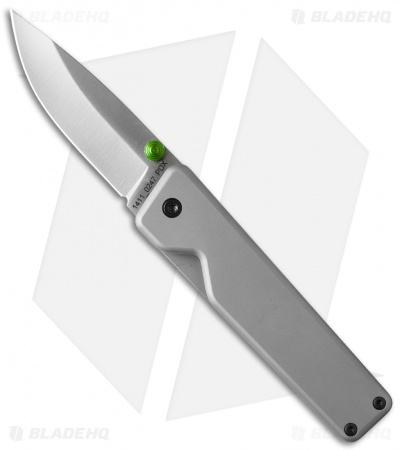 "James The Chapter Frame Lock Knife Gray Titanium (2.75"" Satin)"