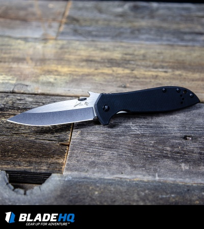 "Kershaw Emerson CQC-6K Knife (3.25"" Stonewash) 6034"