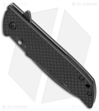 Kershaw Skyline Knife + Flytanium Carbon Fiber Scales (BlackWash)