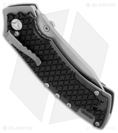 "Kizer Cutlery Ki3411A2 Small Liner Lock Knife Black G-10 (2.5"" Stonewash)"