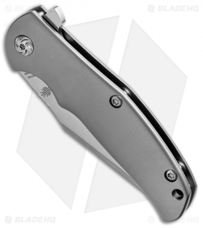 "Kizer Laconico Mini Intrepid Flipper Frame Lock Knife (3"" Satin M390) Ki3468"